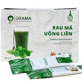 ORAMA - Rau Má uống liền Quảng Thanh, thức uống tốt cho sức khỏe, tiện dụng và đảm bảo an toàn