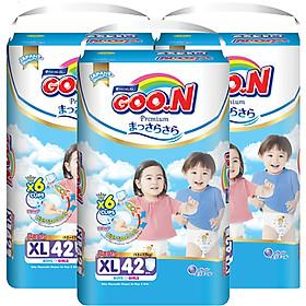Combo 3 Gói Tã Quần Goo.n Premium Cực Đại XL42 (42 Miếng) - Tặng 1 Tã Quần Đại XL22 (22 Miếng)-1