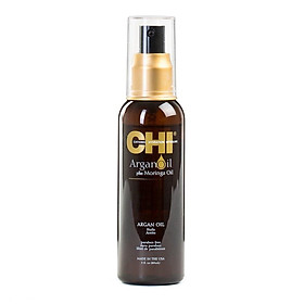 Tinh dầu CHI Argan Moringa Oil dưỡng tóc khô hư tổn cao cấp Mỹ 89ml