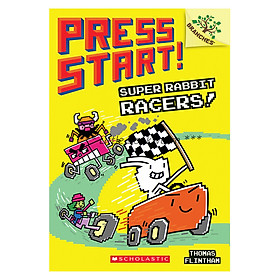 Press Start! Book 3: Super Rabbit Racers!