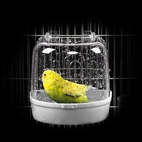Nhà tắm cho chim cảnh bồ câu nhà tắm hamster ( màu ngẫu nhiên )