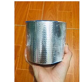 Cuộn Băng keo chống thấm công nghệ Nhật Bản (Khổ 10cm x 5m) Siêu dính, dùng trên mọi vật liệu, chống chịu mọi thời tiết