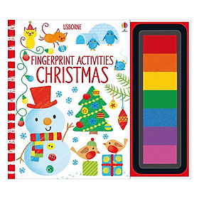 Usborne Fingerprint Activities Christmas (Christmas books)