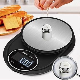 Cân tiểu ly nhà bếp độ chính xác cao- Cân điện tử làm bánh cao cấp (Tặng 3 móc kẹp dây điện đa đăng- giao màu ngẫu nhiên )