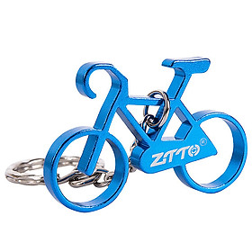 Mini Bike Key Chain Aluminum Alloy Bicycle Keychain Key Chain Ring