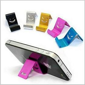 Kệ, giá đỡ điện thoại hình mặt cười thông minh đa năng, dễ sử dụng, kim loại siêu bền đẹp