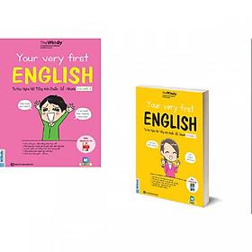 Combo Your Very First English - Tự Học Nghe Nói Tiếng Anh Chuẩn – Dễ – Nhanh Volume 1 + 2 ( tặng kèm bookmark )