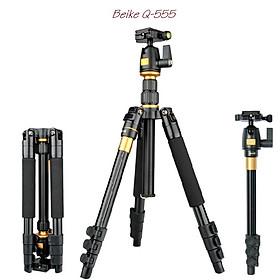Chân máy ảnh kết hợp chân đơn Beike QZSD, Hàng nhập khẩu