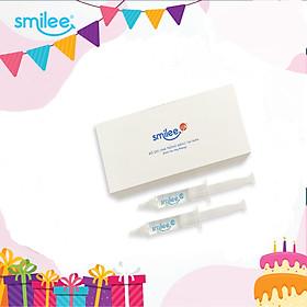 Bộ 2 gel tẩy trắng răng an toàn không ê buốt Smilee- Hàng chính hãng nhập khẩu từ Mỹ có chứng nhận ISO - [Combo tiết kiệm]
