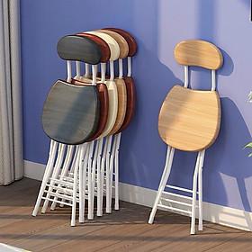 Ghế gỗ gấp gọn decor - ghế làm việc văn phòng xịn - bền - siêu rẻ
