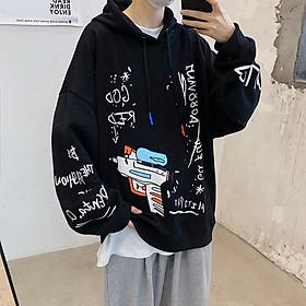 Áo hoodie unisex form rộng WIND Nỉ Ngoại 2020 Swag, áo hoodie ullzang WIND