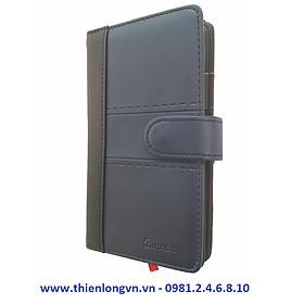 Sổ Bureau nhà báo 300 trang; Klong 363 bìa xám xanh