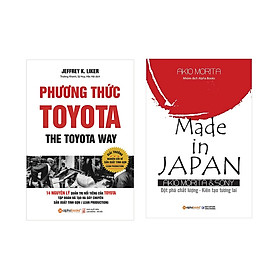 Combo Sách Kinh Doanh Của Người Nhật : Phương thức Toyota + Chiến lược Made in Japan