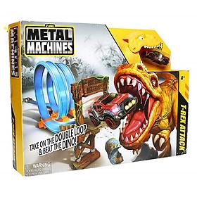 Bộ đồ chơi đường đua đối đầu T-Rex Zuru Metal Machines