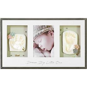 OnceBaby Hộp quà khung ảnh in hình tay chân cho bé (treo tường/ để bàn)