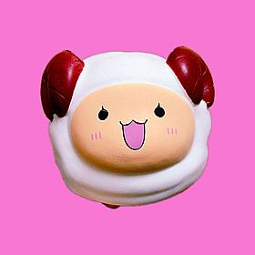 Squishy Cừu Jumbo siêu mềm chơi cực đã dành cho bé trên 3 tuổi