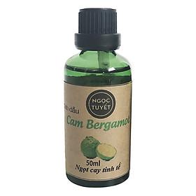 Tinh Dầu Cam Bergamot Nguyên Chất Ngọc Tuyết (50ml)