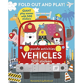 Fold Out and Play Vehicles