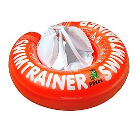 Phao Tập Bơi Chính Hãng SWIMTRAINER Đỡ Lưng Chống Lật Cho Bé Từ 3 Tháng Đến 4 Tuổi màu ĐỎ