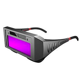Auto Darkening Welding Glasses Solar Power Welding Safety Protective Glasses Welder Eye Protection Glasses Anti-Glare