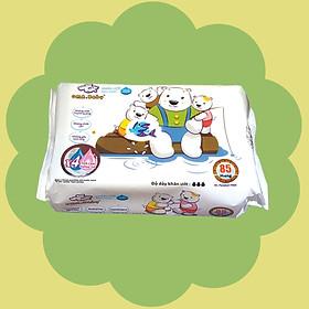 Khăn ướt làm sạch tinh khiết dành cho bé Oma&Baby với công thức Chlorhexidine Digluconate kháng khuẩn an toàn, dịu nhẹ trong khăn ( 85 tờ ) - Oma&Baby premium baby wet wipes ( 85 sheets per package)-1