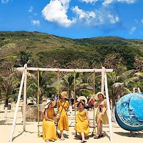 Tour Quy Nhơn 01 Ngày: Kỳ Co - Cococamp - Hòn Khô - Eo Gió - Đồi Cát Phương Mai, Khởi Hành Hàng Ngày