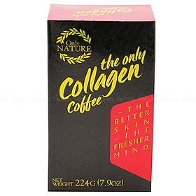 Cà Phê Collagen Only Nature (224g)
