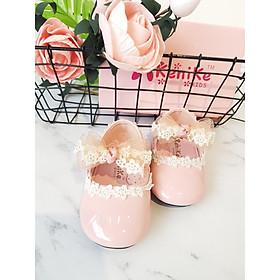 Giày búp bê bé gái nơ ren KENIKE ( HS601-65-N )