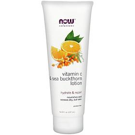 Vitamin C & Sea Buckthorn Lotion | Kem Dưỡng Thể, Dưỡng ẩm, cung cấp dưỡng chất cho làn da xỉn màu (237ml)