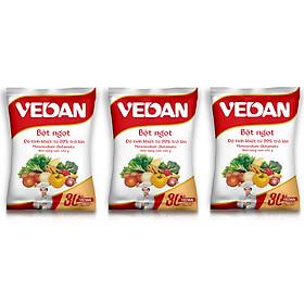Combo 3 gói bột ngọt Vedan 454g