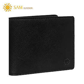 Ví Nam Da Bò Cao Cấp SAM Leather- Bóp Da Saffiano SAM102