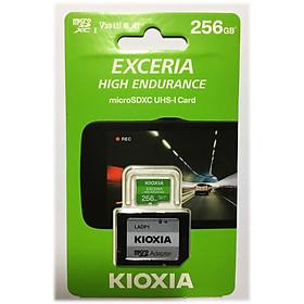 Thẻ nhớ MicroSD KIOXIA EXCERIA HIGH ENDURANCE - 256GB (Có Adapter) - Hàng Nhập Khẩu