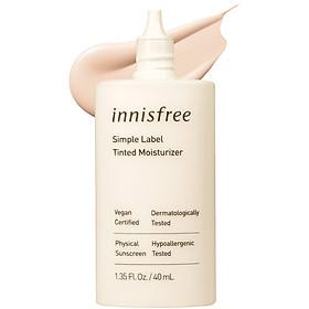 Kem Lót Thuần Chay Innisfree Simple Label Tinted Moisturizer #1 40ml - 131172432