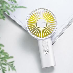 Quạt mini cầm tay Jisulife F9 có tạo ẩm chăm sóc da mặt 2 in 1 – Sạc nhanh 3 giờ - hoạt động 20 giờ liên tục - không gây tiếng ồn - Hàng chính hãng