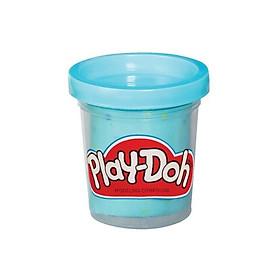 Đồ chơi đất sét Hộp bột lấp lánh Playdoh màu xanh dương PLAYDOH B3423A/BL