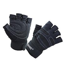 Bộ đôi găng tay thể thao tập GYM có cuốn cổ Aolikes AL109