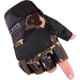 Găng tay chống nắng cụt ngón mấu MỚI thiết kế trẻ trung CGQD01