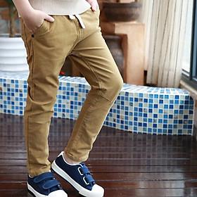 Quần dài kaki cao cấp bé trai 1-10 tuổi