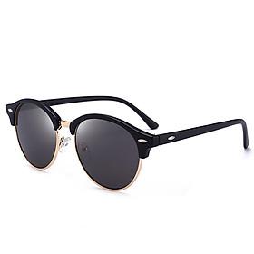 Men Fashion Round Outdoor Polarized UV400 Sun Glasses