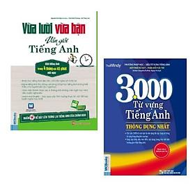 Combo sách: Vừa Lười Vừa Bận Vẫn Giỏi Tiếng Anh + 3000 Từ Vựng Tiếng Anh Thông Dụng Nhất