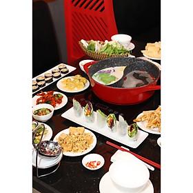 Buffet Lẩu Chay Hongkong - Vé Buffet Tối
