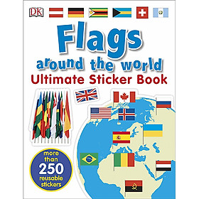 Ultimate Sticker Book Flags Around The World