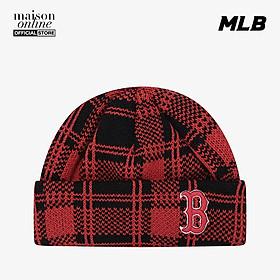MLB - Nón len họa tiết sọc caro Check 32CPBB011-43R