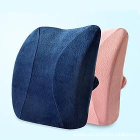 Gối Tựa Lưng Đệm Lót Ghế Văn Phòng chống đau lưng thoái hóa cột sống
