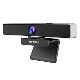 Webcam Họp Trực Tuyến Aoni C90 - Góc Rộng 105*, FullHD 1080p 30fps, Tự Động Lấy Nét, Tương Thích Với Smart TV - Hàng Chính Hãng