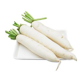 Củ cải trắng hữu cơ - 250g