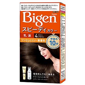 [Nhập khẩu Nhật Bản] Thuốc Nhuộm Tóc phủ bạc Bigen Speedy Color Milky 80ml