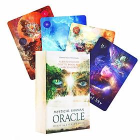 Bộ Bài Bói Mystical Shaman Oracle Cards Tarot Cao Cấp Bản Đẹp