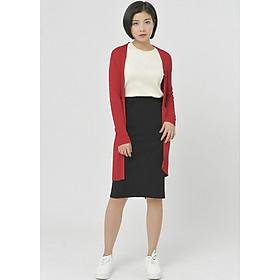Áo cardigan dáng dài, mỏng VIENNE TRAN V65C18T029-WOS25 ( Đỏ ) - One size