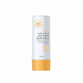 Sữa chống nắng dưỡng trắng Yaka Hàn Quốc Pure Shield Whitening Sun Milk SPF 50+/ PA++++